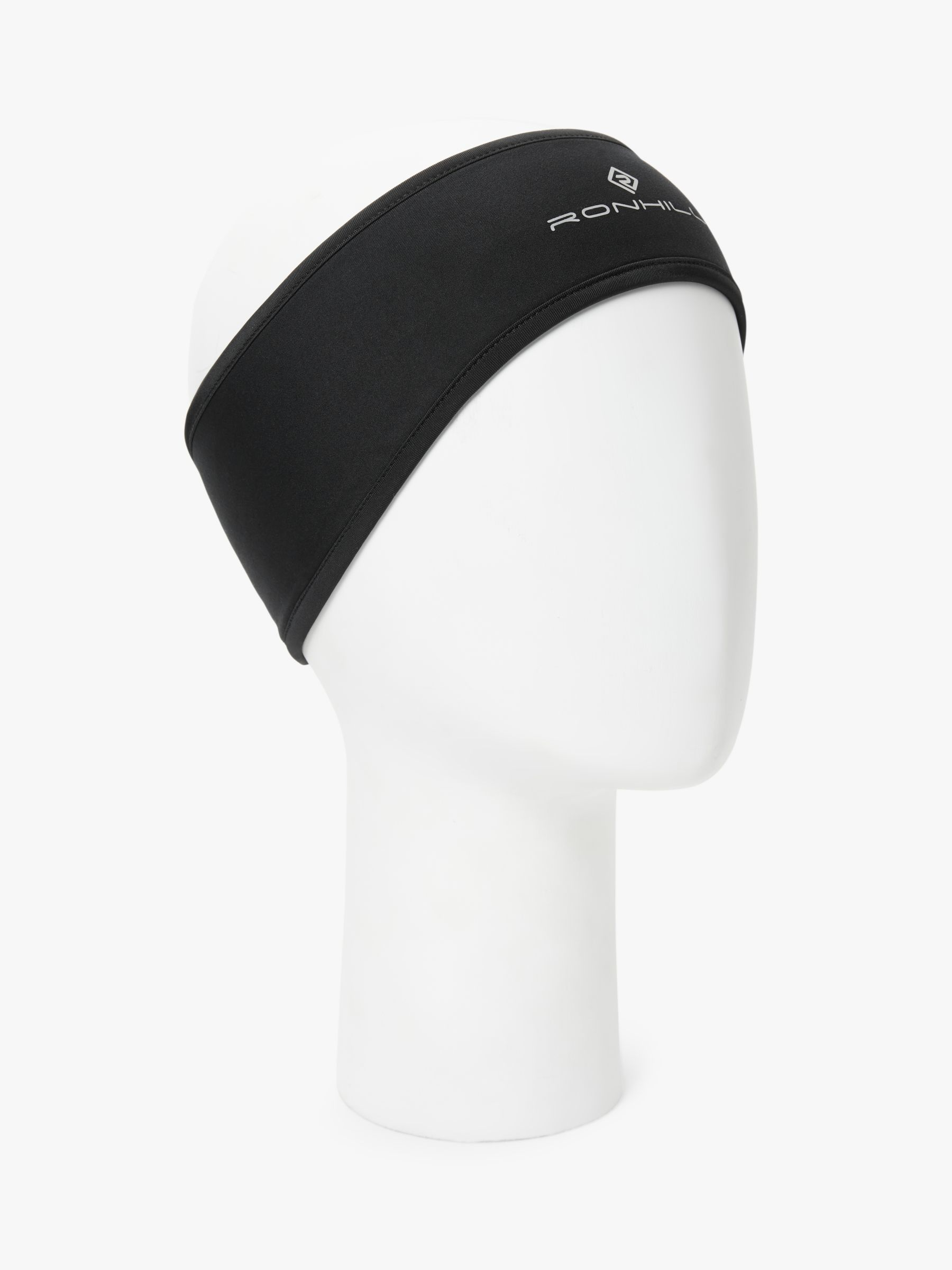 Ronhill Ronhill Wind-Block Headband, All Black