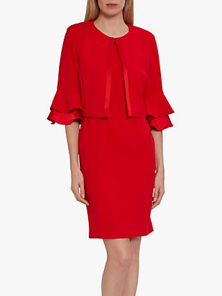 Gina Bacconi Layla Bell Ruffle Sleeve Jacket and Dress