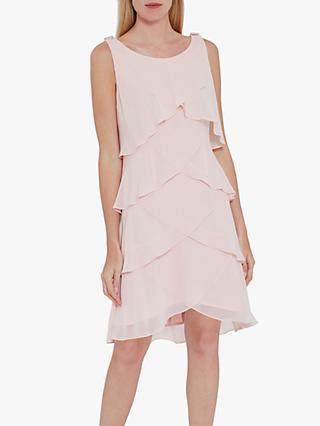 65a24124fbce Gina Bacconi Chiffon Vest Dress
