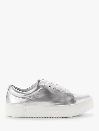 Kin Effie Lace Up Leather Trainers