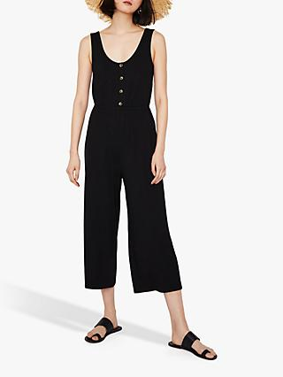 5fb917f766e Warehouse Button Through Jumpsuit
