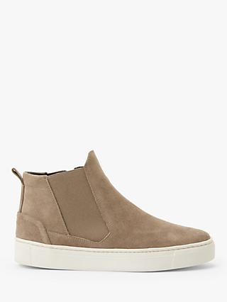 John Lewis & Partners Designed for Comfort Ebbie Suede High Top Trainer Boots