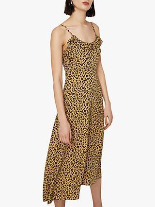 77c988d492e1db Warehouse Leopard Print Dress