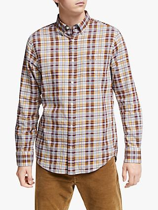 GANT Winter Twill Heather Check Shirt