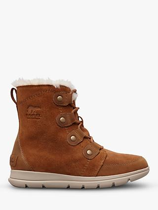 Sorel Explorer Joan Snow Boots, Camel Brown