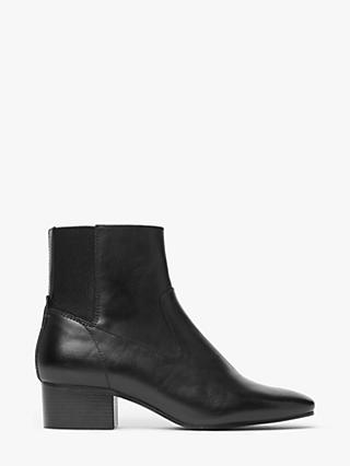 Kin Peaches Leather Ankle Boots