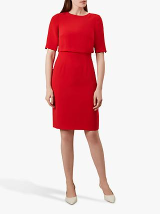 Hobbs Larissa Dress, Red