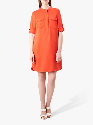 Hobbs Miah Dress, Coral