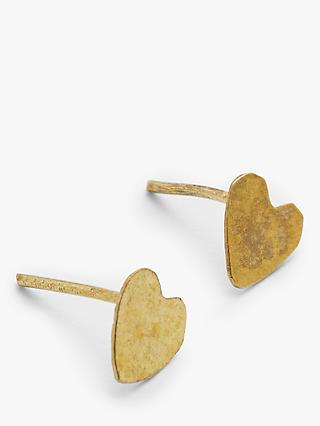 People Tree Heart Shape Stud Earrings