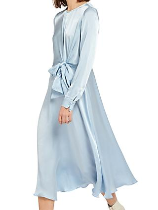 Ghost Mindy Dress, Pale Blue