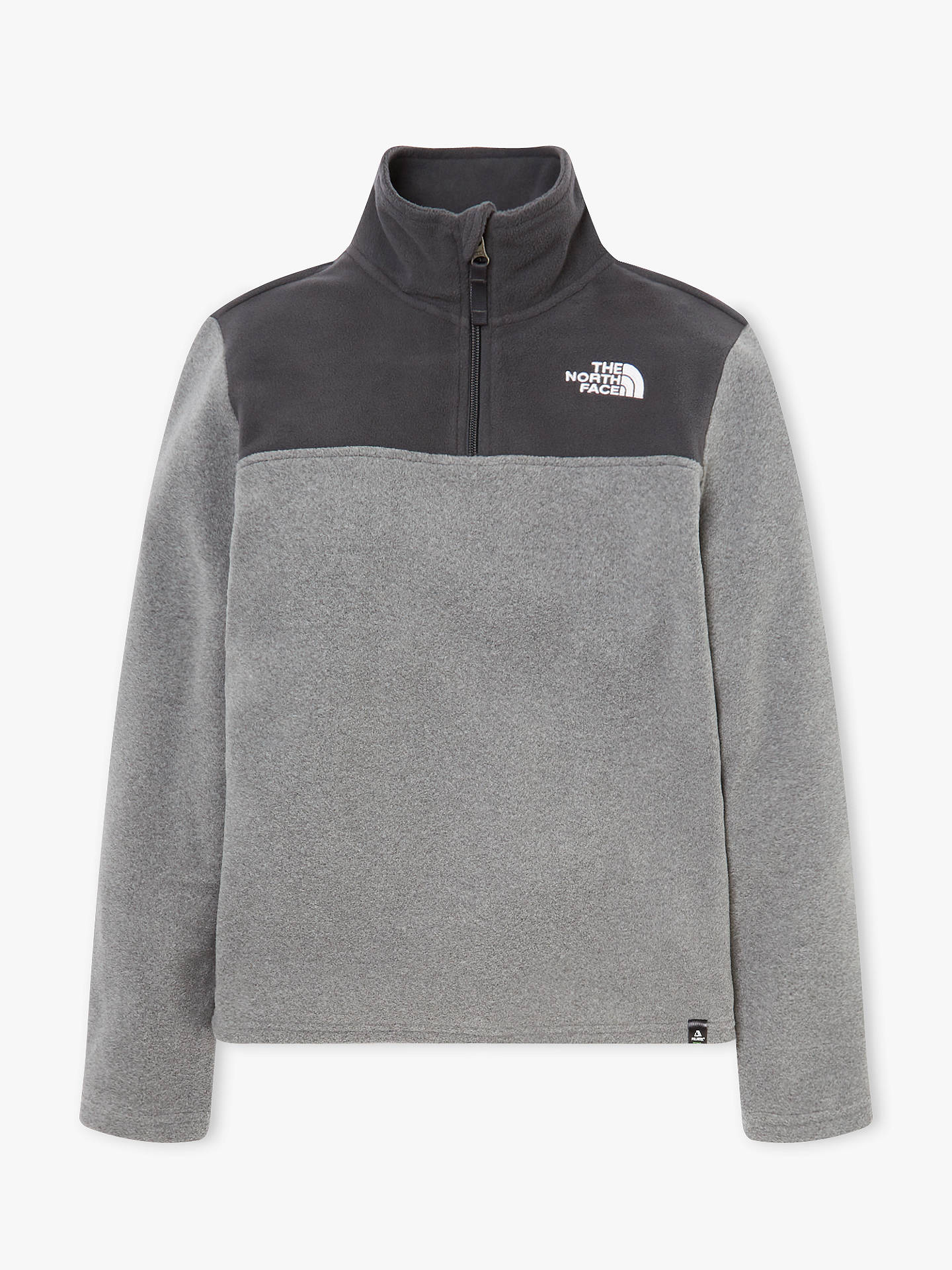e2a694fff The North Face Boys' Glacier Fleece Jumper, Medium Grey