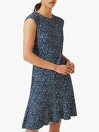 b71f5dfdeea Jigsaw Flower Market Dress, Navy