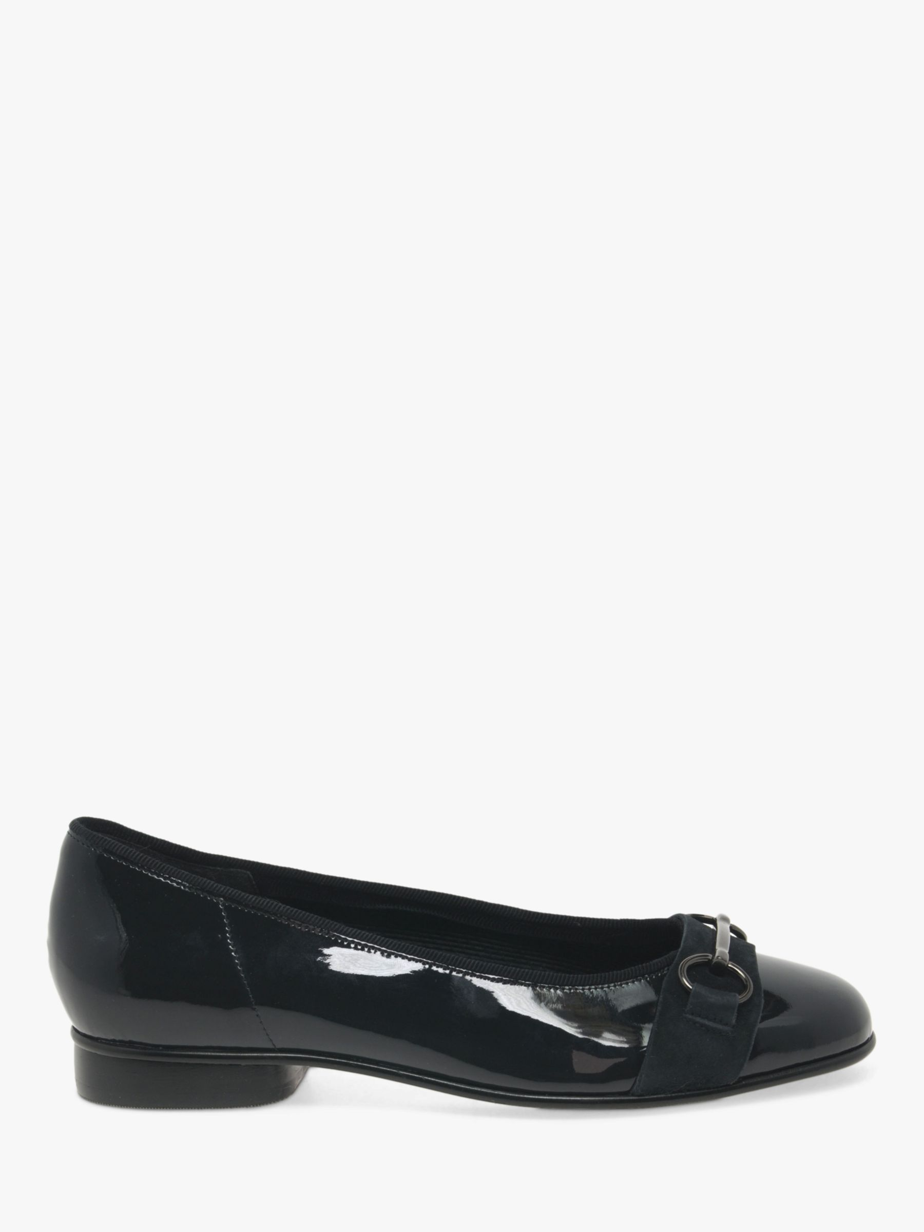 Gabor Gabor Ample Leather Ballet Pumps