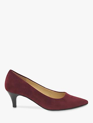 Gabor Royal Point Toe Stiletto Heeled Court Shoes