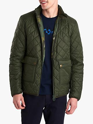 Barbour National Trust Quilt Addition Jacket, Sage