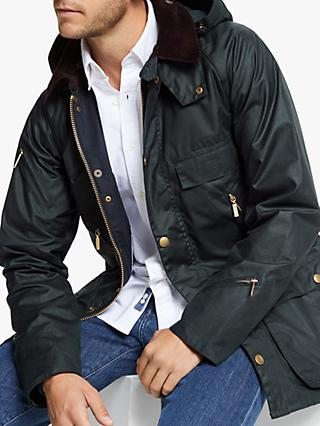 Barbour Bedale Waxed Jacket, Navy