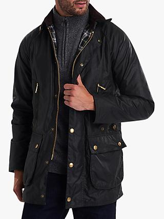 Barbour Beaufort Waxed Jacket, Olive