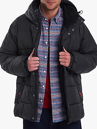 Barbour Hooded Baffle Jacket