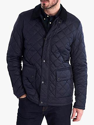 Barbour Diggle Quilted Jacket, Navy
