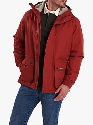 Barbour Film Wax Jacket, Red