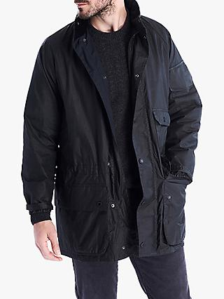 Barbour Ridley Scott Film Wax Jacket, Black
