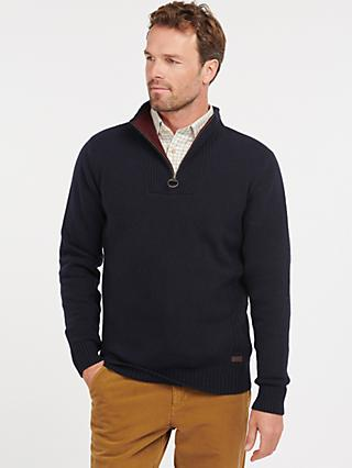 Barbour Nelson Essential Half Zip Jumper