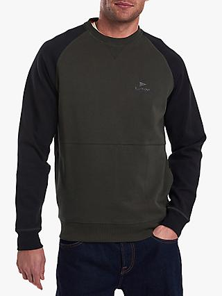 Barbour Creek Crew Sweatshirt, Forest