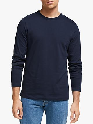 John Lewis & Partners Elmore Long Sleeve Heavyweight T-Shirt