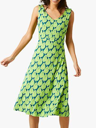a8a75f1323 White Stuff Trudy Abstract Print Dress