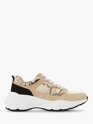 Dune Elia Leather Trainers