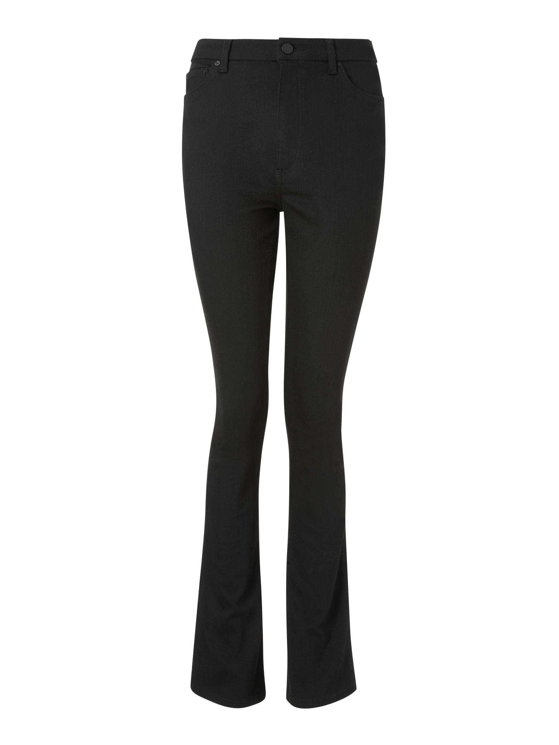 Buy AND/OR Malibu Mini Bootcut Jeans, Black, 26 Online at johnlewis.com