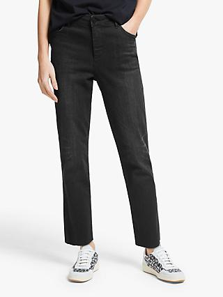 AND/OR Sierra High Rise Straight Jeans, Moonshadow