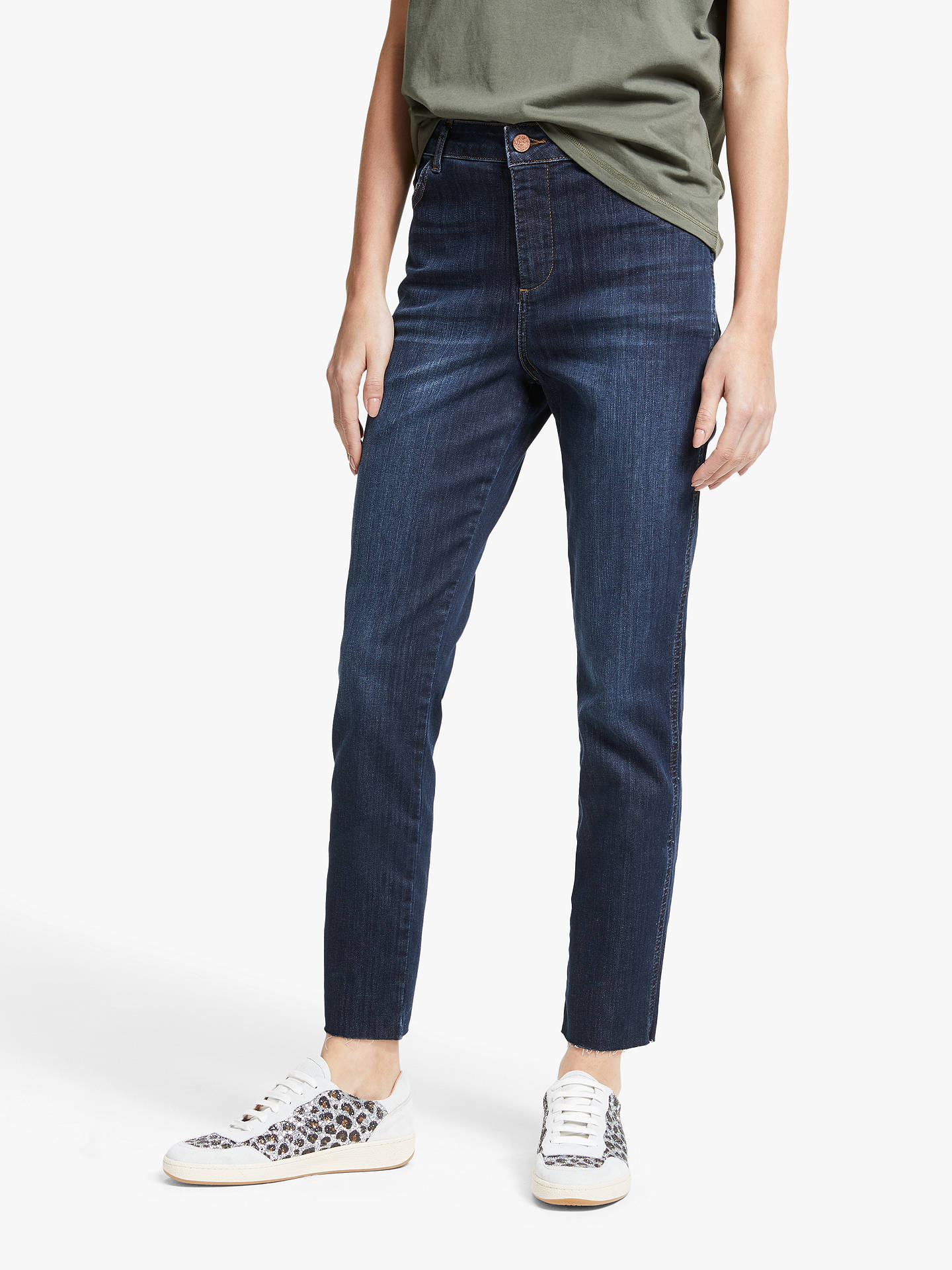 best service 9bf8d 86602 AND/OR Sierra High Rise Straight Jeans, Azurite