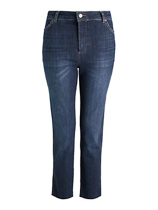 AND/OR Sierra High Rise Straight Jeans, Azurite