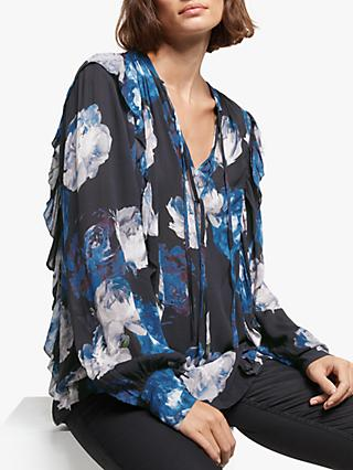 AND/OR Kimi Rosetta Print Blouse, Multi
