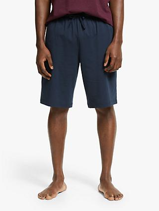John Lewis & Partners Organic Cotton Jersey Lounge Shorts