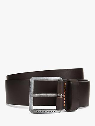 65f27ec7 Men's Belts   Leather, Canvas & Suede Belts   John Lewis