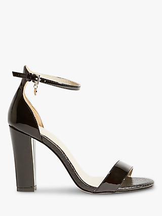 b39c46e7d79 Karen Millen Patent Strappy Heel Sandals