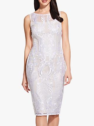 Adrianna Papell Lace Sheath Dress, Ivory