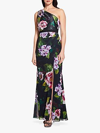 a21eac2a96b Adrianna Papell One Shoulder Print Dress