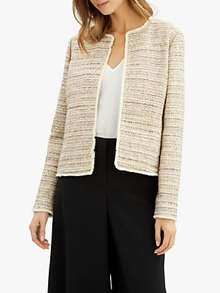 Jaeger Textured Jacket, Gold