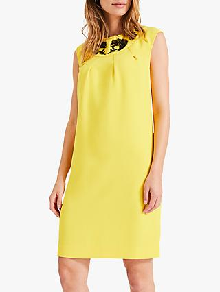 Damsel in a Dress Kleo Beaded Dress, Yellow/Black