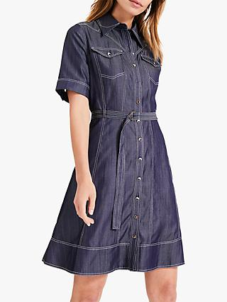 Damsel in a Dress Devere Denim Dress, Blue