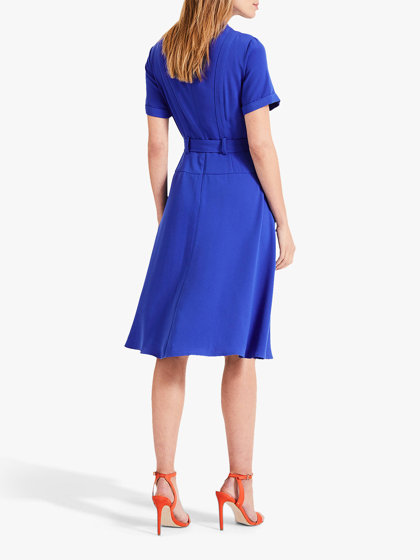 Buy Damsel in a Dress Ennis Long Sleeve Dress, Cobalt, 16 Online at johnlewis.com