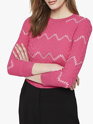 Damsel in a Dress Oria Texture Jumper, Pink