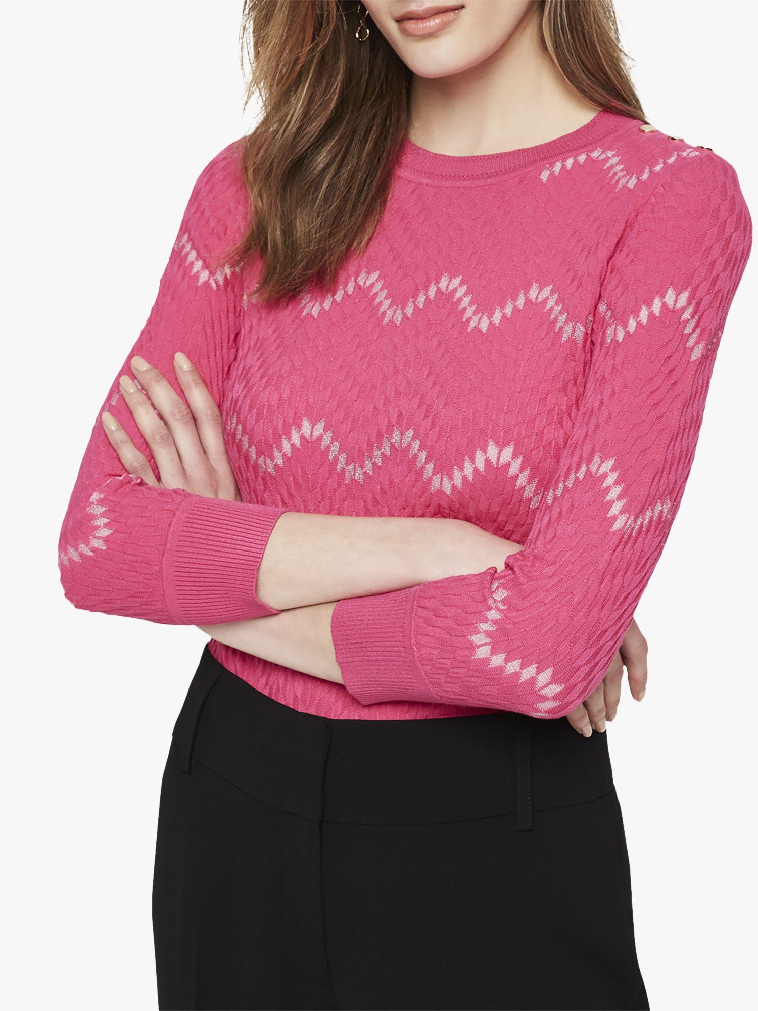 Damsel in a dress Damsel in a Dress Oria Texture Jumper, Pink