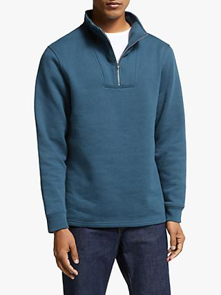 John Lewis & Partners Abney Funnel Neck Sweatshirt