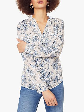 Oasis Bernie Printed Shirt, Multi Natural