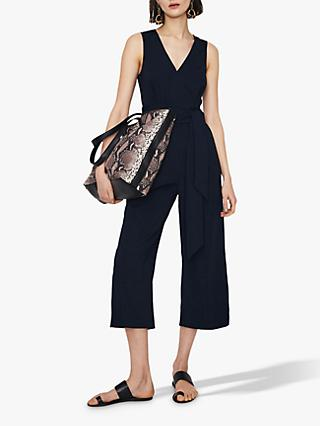 Warehouse Open Back Jumpsuit