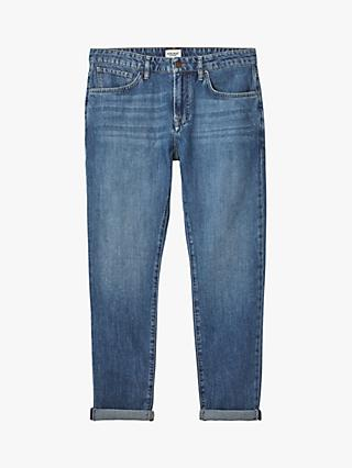 White Stuff Maple Boyfriend Jeans, Light Denim